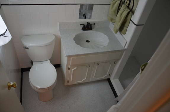 Bathroom resurface